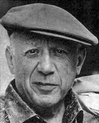 Pablo Picasso em foto da Revista Vea y Lea