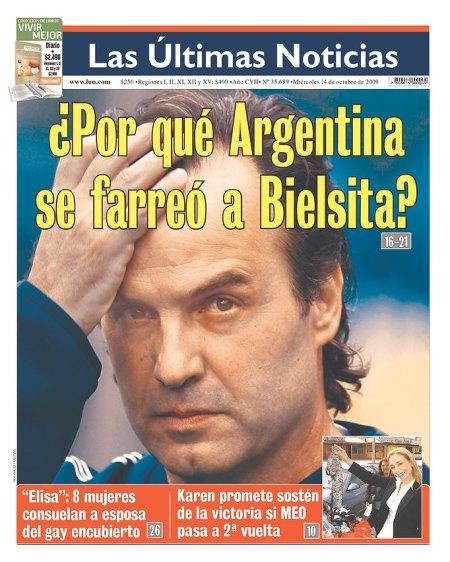 ¿Por qué Argentina se farreó a Bielsita?