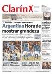 Manchete dos principais jornais um dia depois da eliminação (1)