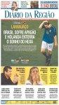Manchete dos principais jornais um dia depois da eliminação (14)