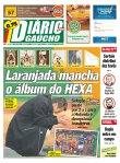 Manchete dos principais jornais um dia depois da eliminação (21)