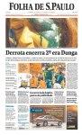 Manchete dos principais jornais um dia depois da eliminação (23)