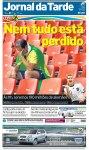 Manchete dos principais jornais um dia depois da eliminação (25)