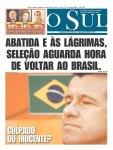 Manchete dos principais jornais um dia depois da eliminação (31)
