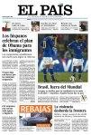 Manchete dos principais jornais um dia depois da eliminação (36)