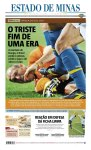 Manchete dos principais jornais um dia depois da eliminação (5)