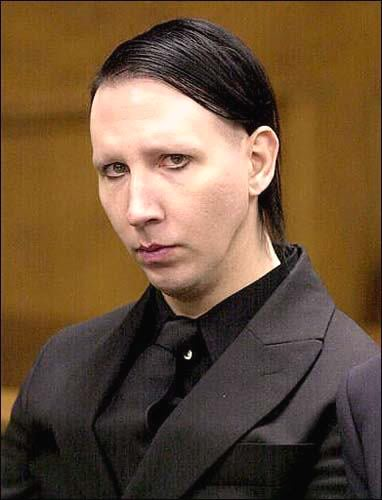 marilyn manson no makeup