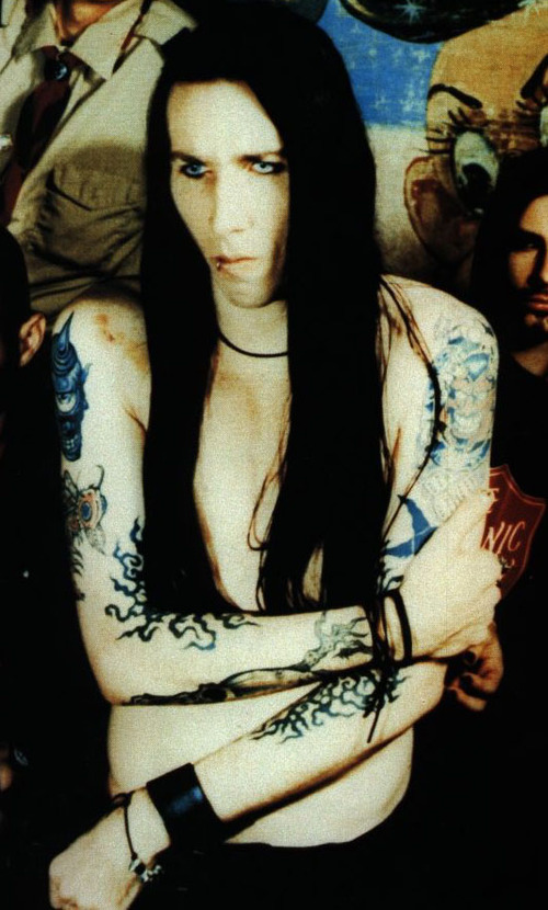 marilyn manson wallpaper. Marilyn Manson Without Makeup