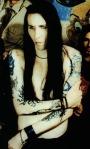 Brian Hugh Warner - Marilyn Manson Without Makeup no Pedra Enxuta (3)