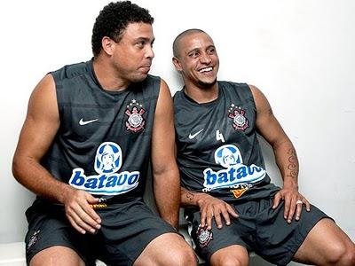 Dois ex-atletas em atividade